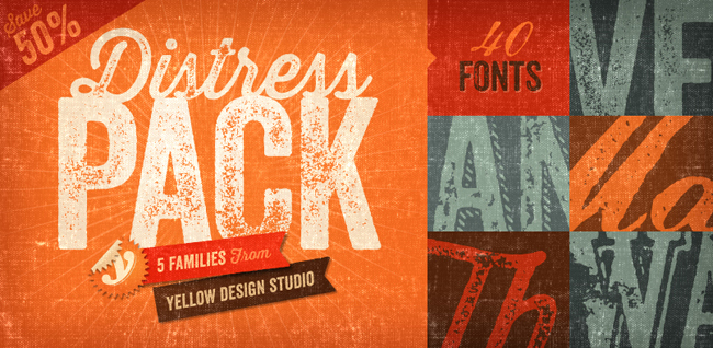 yds distressed standard The Distress Font Collection