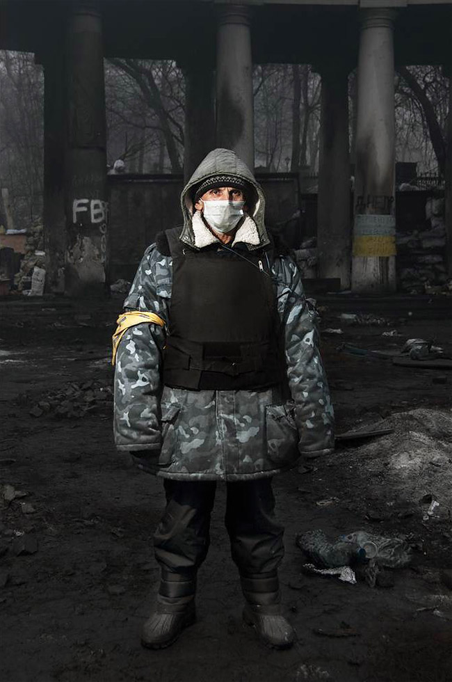 78 Stunning Portraits Of The Ukraines Maidan Protesters