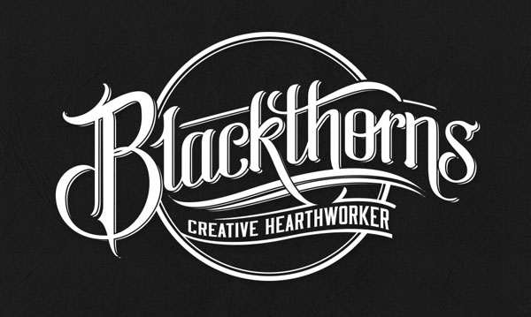 Beautiful Calligraphy logotypes 7 40+ Beautiful Calligraphy Logotypes by Mateusz Witczak