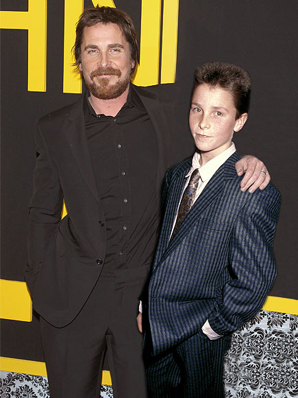 christian bale 435x580 Photoshopped images of Oscar nominees posing with their younger