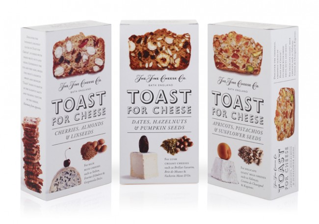 "fcc toast for cheese211 650x456 30 Examples of Packaging Designs that Scream ""Buy Me!"""
