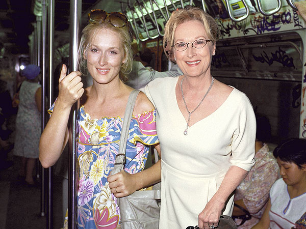 meryl streep 600x450 Photoshopped images of Oscar nominees posing with their younger