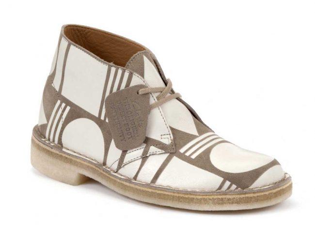 patternity x clarks ss14 desert boots 2 650x473 PATTERNITY x Clarks SS14 Desert Boot