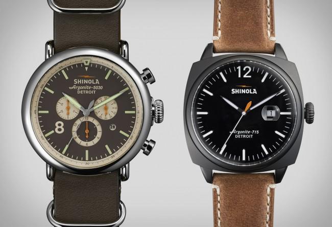 shinola watches large 650x444 Shinola Watches