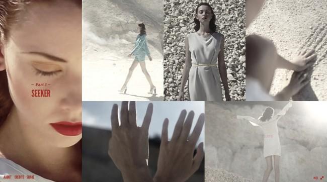 six screen 01 650x362 SiX   An interactive fashion film experience