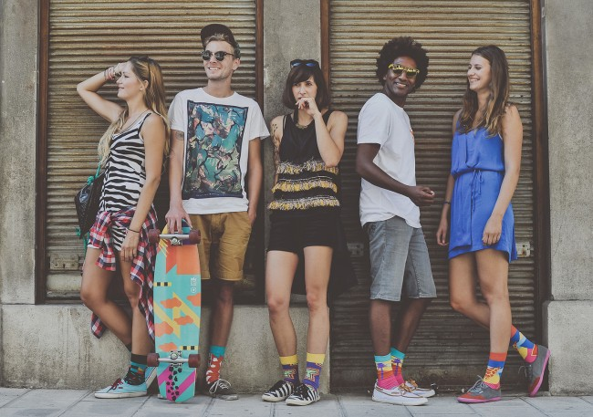 0022 650x457 Zulu Zion sockwear   African prints and 90s streetstyle