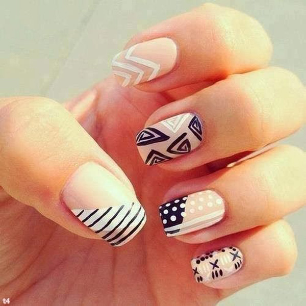 29 Easy Nail Designs 50 Easy Nail Designs
