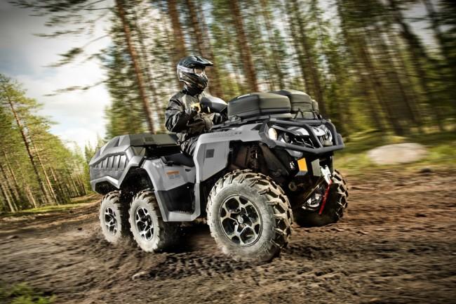 ATV 1 650x433 Rugged 6x6 All Terrain Vehicle by Can Am