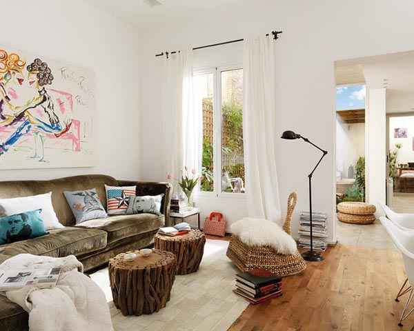 Beautiful Apartment Design with Rustic Accents Beautiful Apartment Design with Rustic Accents