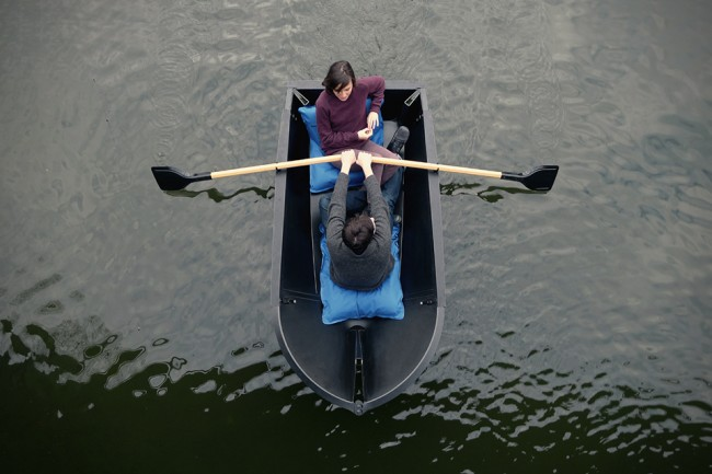 Boat 1 650x433 The Foldable Rowboat