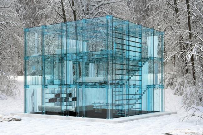 The Glass House By Santambrogio Milano 11 650x433 The Glass House By Santambrogio Milano