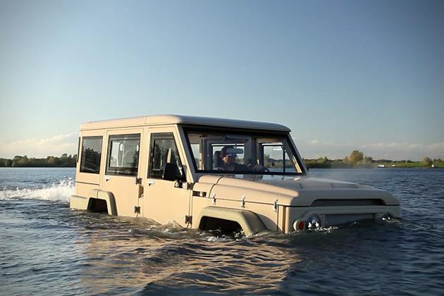 Truck 1 Amphibicruiser Is A Toyota Powered Amphibious SUV