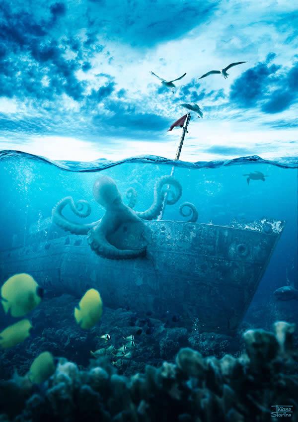 0897 Shipwreck FINAL Adobe Photoshop Tutorials For Photo Editing