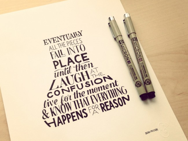 111 650x487 Astonishing Hand Lettering by Sean McCabe