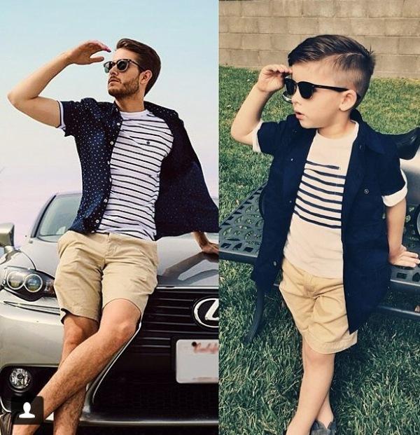 124 Adorable Photos 4 Year Old Boy Recreates Stylish Looks from High Fashion Shots