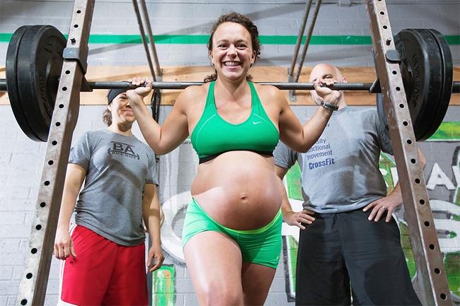 134 Pregnant Fitness Fanatic