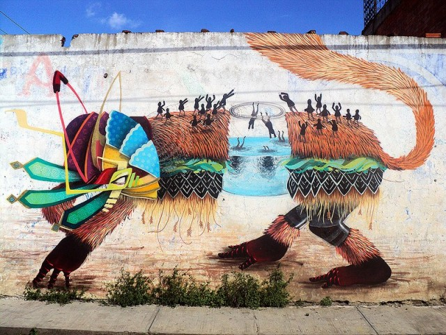 1384499184 1 640x480 Mythical Street Art by Curiot