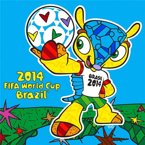 FIFA britto 01 Brasils Romero Britto And His Art For The World Cup