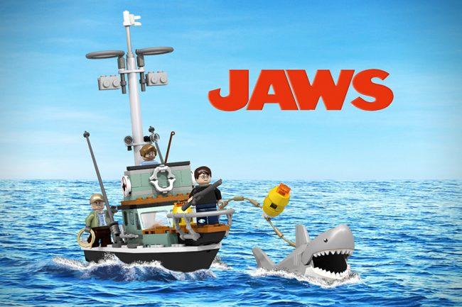 Jaws 1 650x433 Jaws LEGO Set
