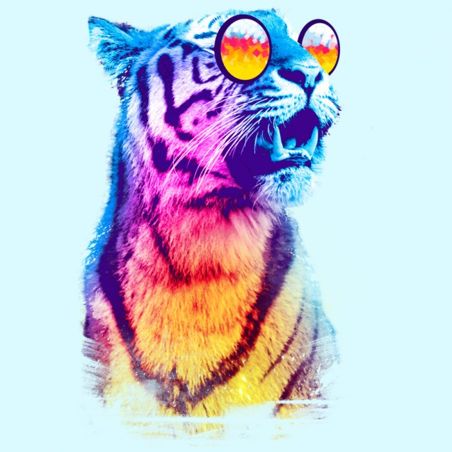 Tiger Breeze Tee Design by Artemple design