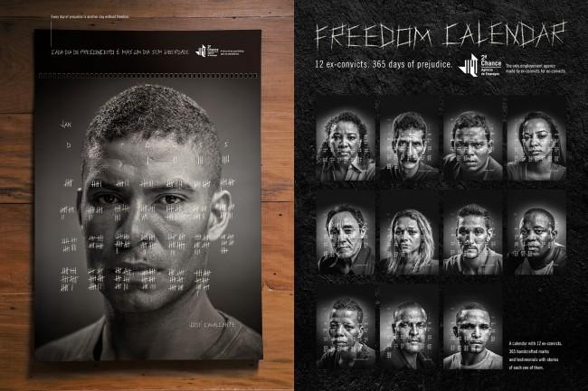 afroreggae ngo segunda chance employment agency freedom calendar 650x433 Freedom Calendar 2014
