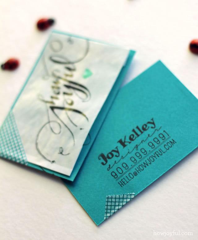 Handmade Business Card Designs | Design That Sticks