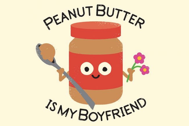 peanutbutter 650x432 Brutally honest art for foodies