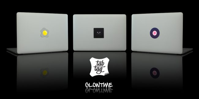 tabtag template02 650x325 Glowtime – let your Macbook glow!