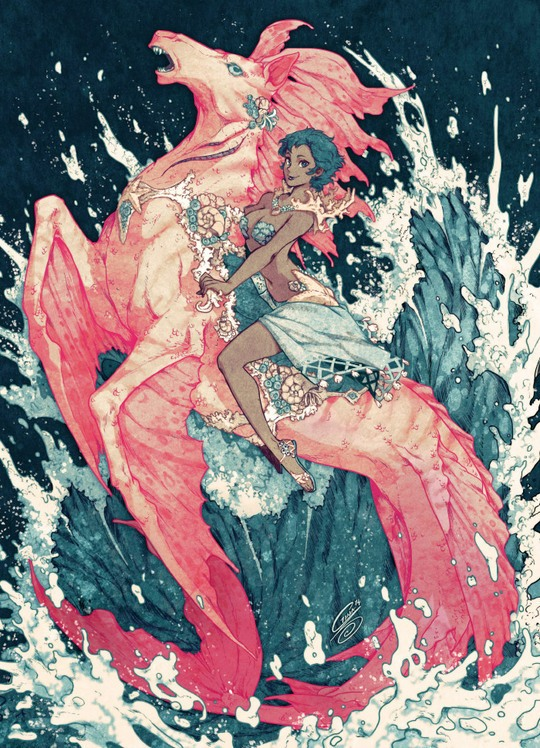 001 amazing illustrations gina chacn Amazing Illustrations by Gina Chacón