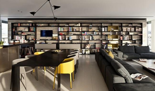 004 antokolsky penthouse pitsou kedem architects 650x383 Antokolsky Penthouse by Pitsou Kedem Architects