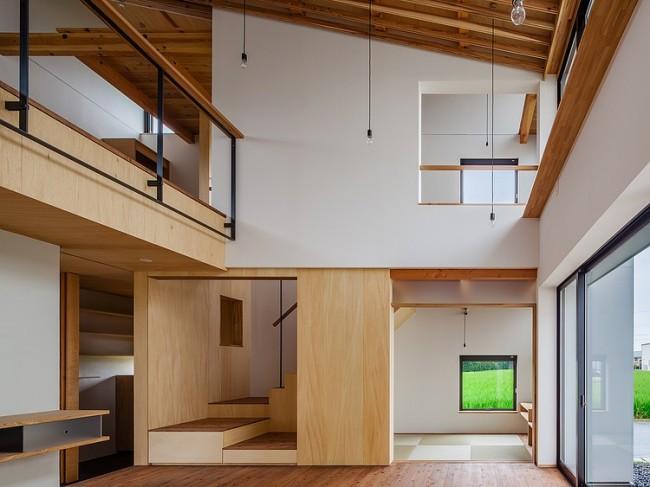 005 houseym fumihito ohashi architecture studio 650x487 HouseYM by Fumihito Ohashi Architecture Studio