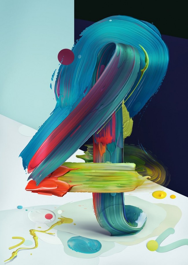 05 Painting Typography Atypical 650x919 Painting Typography Atypical