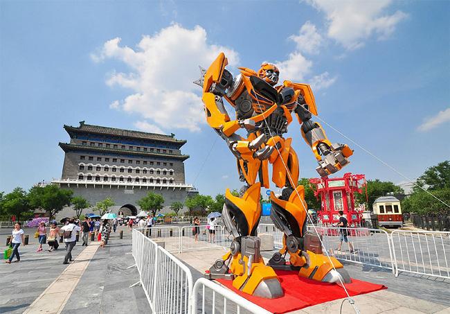 1271 Ni Hao, Auto Bots! Transformers Greet Fans in Beijing