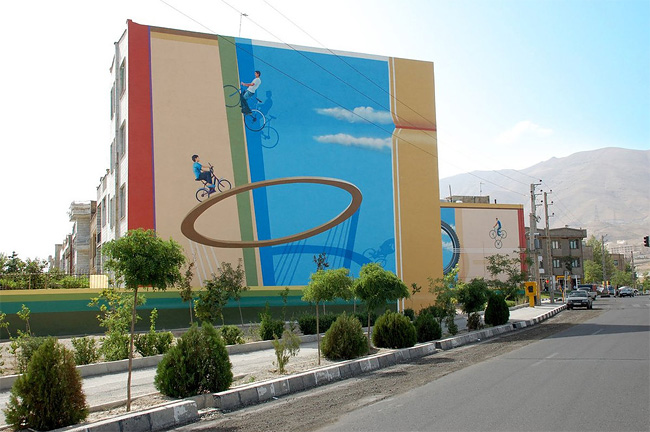 1297 Street Art By Mehdi Ghadyanloo