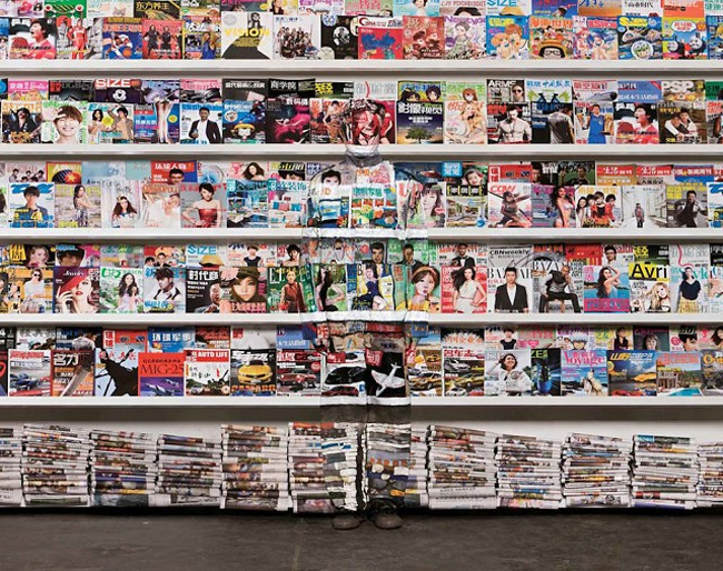 1630 Fantastic New Transformations of Liu Bolin, the Invisible Painted Man