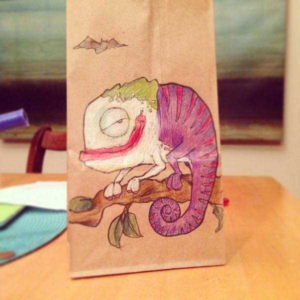 Lunch Bag Art Joker 600x600 Lunch Bag Art