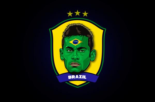 World Cup Stars Neymar World Cup Stars
