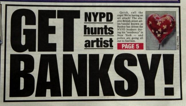 banksy 05 650x372 Banksy: Graffiti Artist, Political Activist, Contemporary Hero