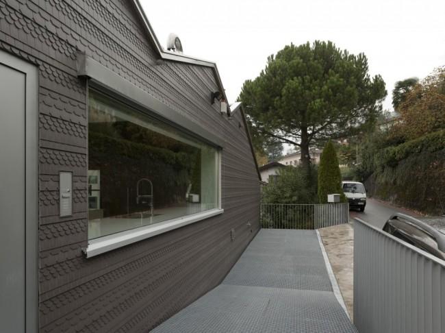 leibal residenceinlugano volaptohatz 5 650x486 Residence in Lugano by Volpatohatz