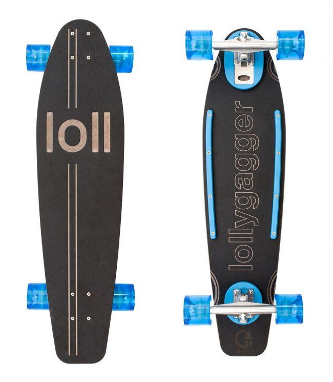 lollygagger longboard loll designs 2 650x745 Lollygagger Longboard by Loll Designs