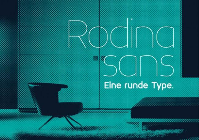 rodina free font 09 650x457 Rodina Free Font