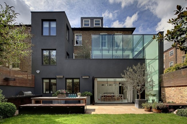 souldern road everythingwithatwist 01 650x432 Vicrorian House Transformation, Brook Green, London, UK