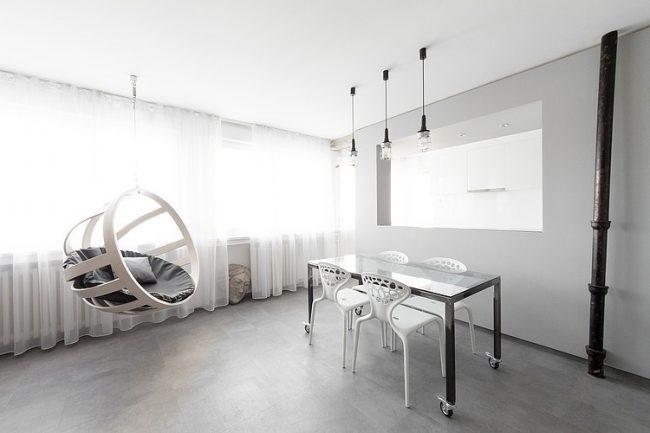 001 grayscale apartment arhitektura budjevac 650x433 Grayscale Apartment by Arhitektura Budjevac