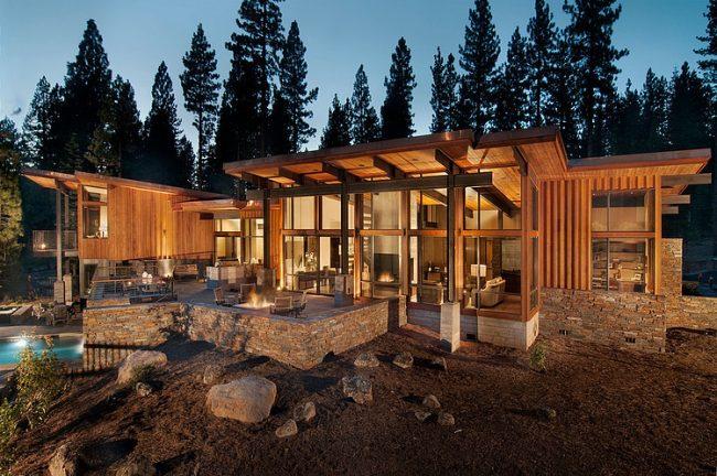 001 lake tahoe residence bethe cohen design 650x432 Lake Tahoe Residence by Bethe Cohen Design