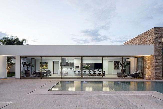 002 tb residence aguirre arquitetura 650x433 TB Residence by Aguirre Arquitetura