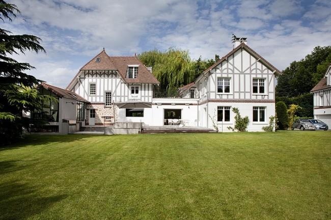 008 villennessurseine residence olivier chabaud architecte 650x433 Villennes sur Seine Residence by Olivier Chabaud Architecte