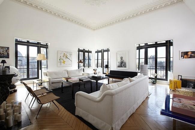 011 apartement paris sarah lavoine 650x433 Apartement in Paris by Sarah Lavoine