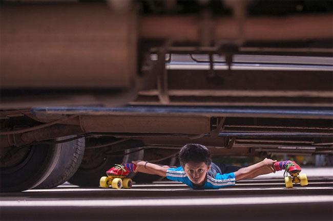 1252 Six year old Roller Skater Gagan Satish