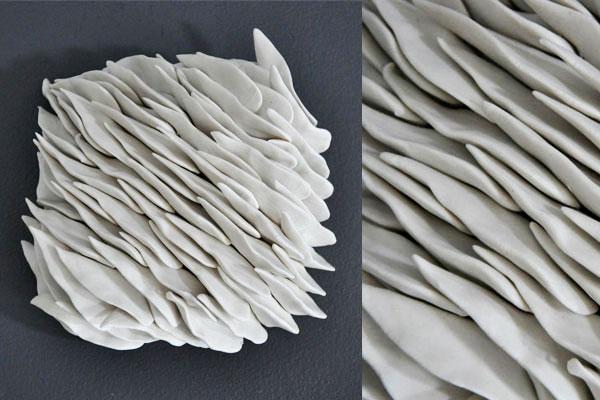 3d porcelain tiles 3D Textured Porcelain Wall Tiles