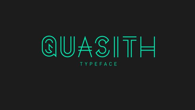 Quasith Quasith Free Typeface